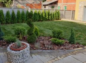 Postavljanje tepih trave i uredjenje vrta 15