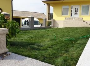 Postavljanje tepih trave i uredjenje vrta 12